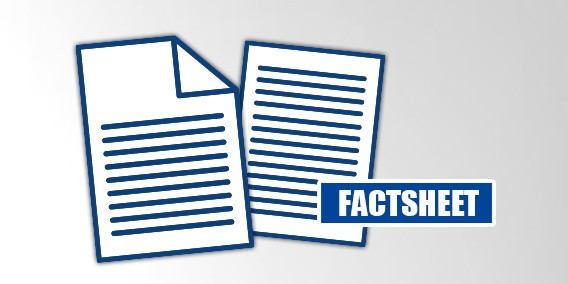 Factsheet - Datenanlieferung